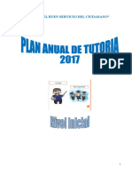 Plan Anual de Tutoria 2017 Inicial