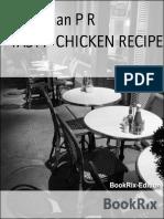 Rajmohan p r Tasty Chicken Recipe