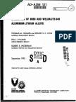 EVALUATION  OF 8090 AND WELDALITE-049 ALUMINUM-LITHIUM  ALLOYS