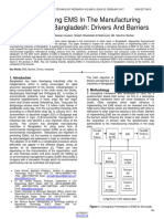 Implementing Ems in the Manufacturing Industries of Bangladesh Drivers and Barriers