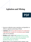 Mixing and Agitation Class Lecture