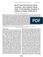 Predicting Bank Financial Failures Using Discriminant Analysis and Support Vector Machines Methods a Comparative Analysis in Commercial Banks in Sudan 2006 2014