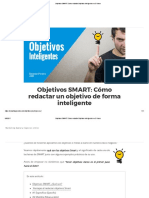 Objetivos SMART_ Cómo Redactar Objetivos Inteligentes en 5 Pasos