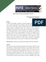 Anisio Teixeira Pioneiro Do Pragmatismo No Brasil