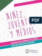 Ninez Juventud y Medios Defensoria Del Publico