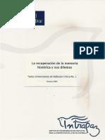 Memoria Histórica en Guatemala