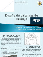 Diseño de Sistemas de Drenaje Final