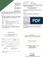 Dr Meld i Lecture Flyer