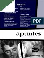 Revista Apuntes-El Secreto