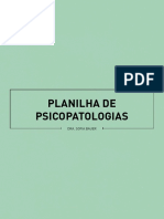 eBook Sofiabauer Planilha Psicopatologias