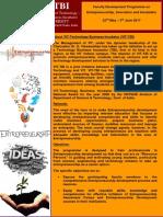 FDP on Entrepreneurship-03042017