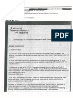 The Institute of Terrorism Research and Response