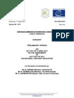 A Velencei Bizottság előzetes döntése a CEU-törvényről