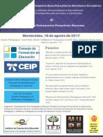 2017 DAPHF Jornadas Muestra Difusion