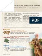 Pet Owner and Veterinarian Dosage Form Discussion Guide