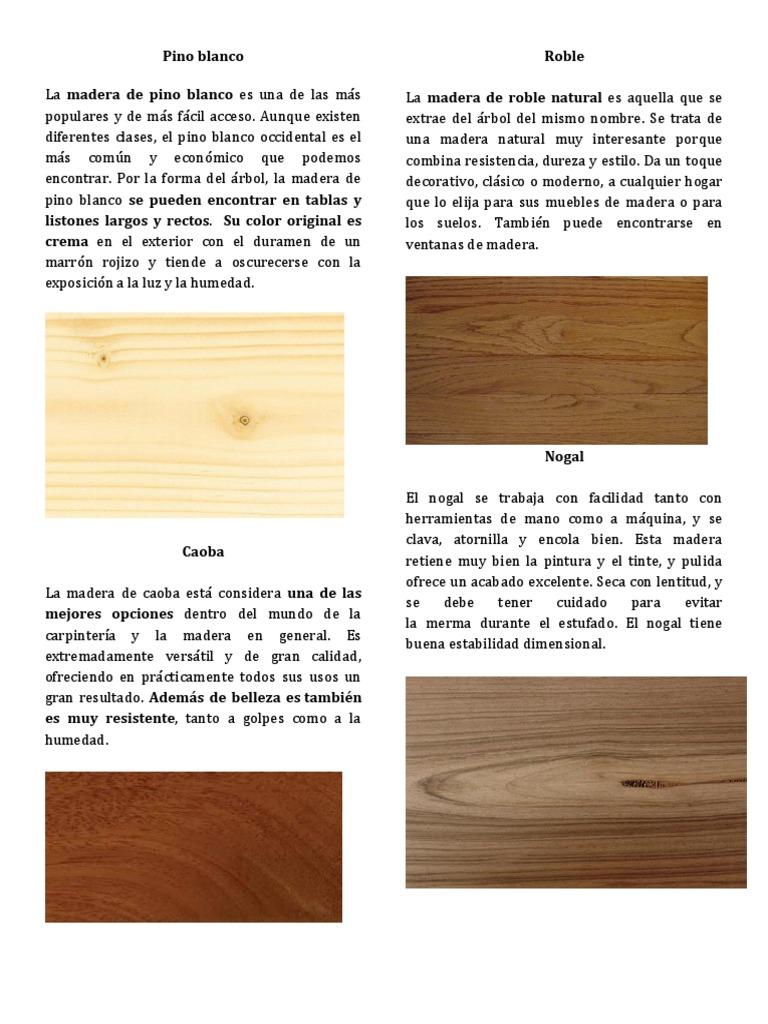 Las Mejores Maderas Para Muebles Fabulous Las Mejores Maderas  # Muebles Kosbian