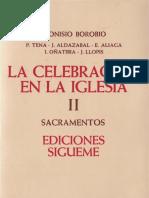 Los Sacramentos Borobio Dionisio