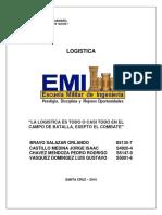 Materia Militar Logistica