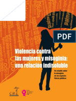 Adelay Carias - Violencia contra las mujeres y misoginia, una relación indisoluble