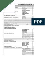Lista de Chequeo de Laboratorio