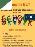 Games in ELT