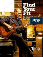 Taylor Guitars Find Your Fit