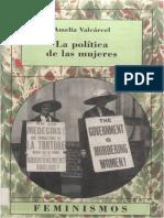 Amelia Valcárcel - La política de las mujeres