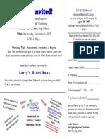 Invite TT Sept.2017PCHS
