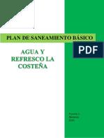 1. Generalidades Del Plan de Saneamiento