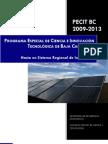 Programa Especial de Ciencia y Tecnología B.C. 2009-2013