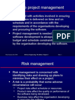 4.0 Risk Management