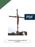 Panduan Misa Penyambutan Salib AYD