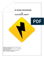 Electrical Safety SWP
