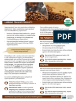 GUIDE FOR ORGANIC FOOD CERTIFICATION BY USDA