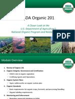 ORGANIC FOOD BASIS BY THE USDA