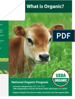 Labeling Organic Milk and food Products by the USDA