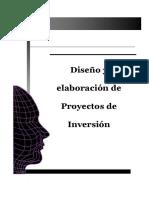 Diseño y Proyectos de Inversion