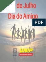 20 de JulhoDia Do Amigo - Unip
