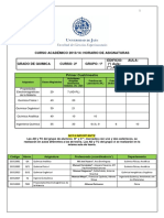 Horario 2 Grado Quimica 2013-14 Version 8