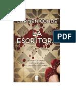 Conde Carmen - La Escritora
