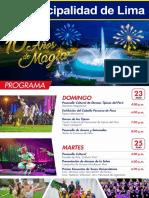 Programa Por El 10 Aniversario Circuito Magico Del Agua