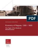 Economy of Ragusa, 1300 – 1800 (2014)