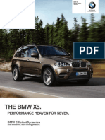 BMW US X5 2013 Brochure