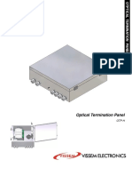 Optical Termination Panel