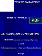 Ch 1 Introduction to Marketing