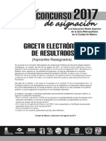 Comipems Gaceta Reasignacion Nw 2017