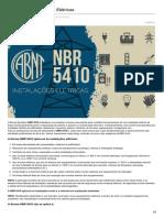 Breve Ensino Sobre Instalações Elétricas de Acordo Com a NBR 5410