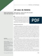 Radiologia- 110 Anos de História