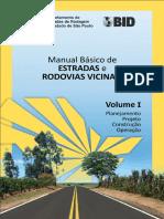 Manual Basico de Estradas e Rodovias Vicinais - Volume I