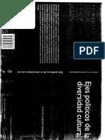 Vladimir Zambrano, Carlos. Territorios Plurales , Cambio Sociopolítico y Gobernabilidad Cultural